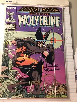 Marvel Comics Presents Wolverine  # 1 - 1988 VF Signed By Simonson/Janson! w COA