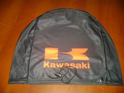 Motorcycle Helmet Bag Microfiber Black Helmet Bag Carry Helmet Duffle Kawasaki
