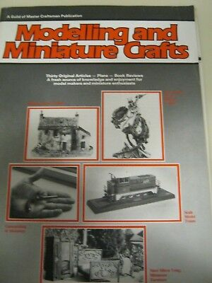 Vintage Modelling and Miniature Crafts Magazine Numbers 1/7 and July 1989.