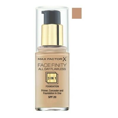 Max Factor Maquillaje Face Finity 3 In 1 Fdn 75 Golden Spf 20 30 Ml