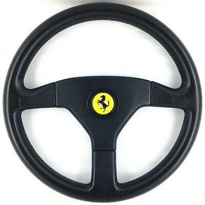 Genuine Ferrari Momo 360mm leather steering wheel. 348 308 512 GTB TR etc.   7D