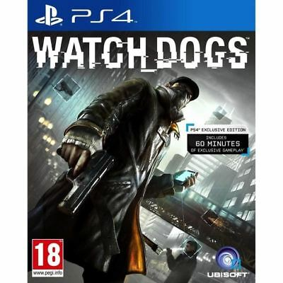 Watch Dogs - PS4 IMPORT neuf sous blister