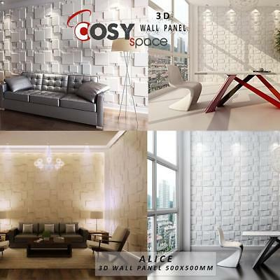 3D Wall Panel Natural Bamboo Fibre Tiles Cladding Featured Wall Decor New Trend