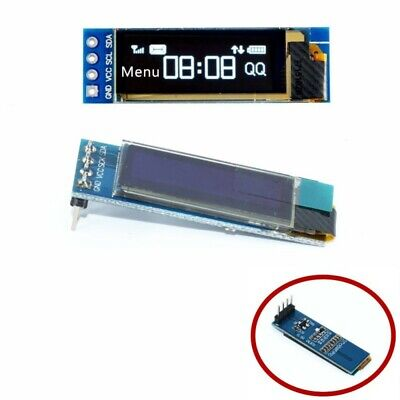 OLED LCD 0.91 Inch Display White 128x32  Module SSD1306 Driver For Arduino 5039Z