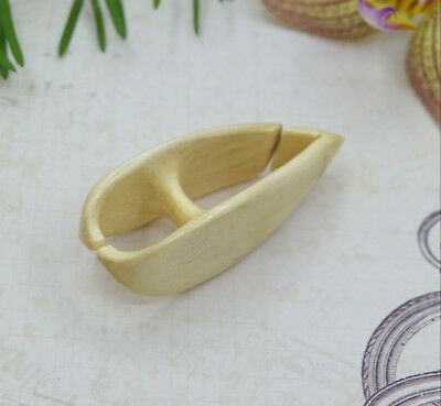 Wooden Tatting Shuttle Handmade of plum wood Frivolite