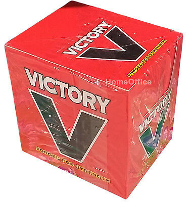 Victory V Lozenges  Retro Old Sweets Forged For Strength 24 Packs