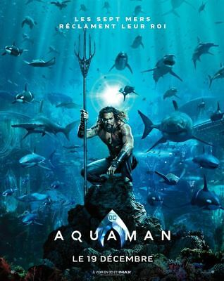 Aquaman Prev  - Affiche cinema 40X60 - 120x160 Movie Poster