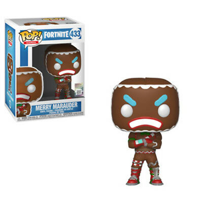 Fortnite - Merry Marauder - Funko Pop! Games: (2018, Toy NUEVO)
