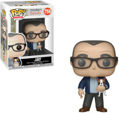 Modern Family - Jay W/Dog - Funko Pop! Television: (2019, Toy NUEVO)