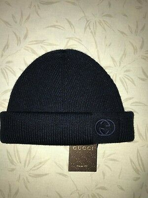 ffbfb9f2fbd 100% AUTHENTIC GUCCI Winter Hat Ski Mask Knit Wool MINT Size M ...