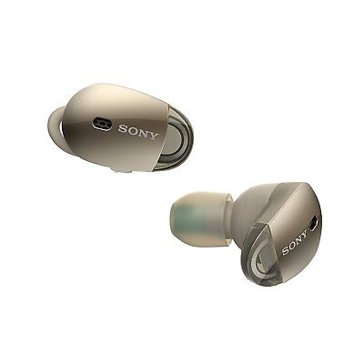 Sony WF-1000X/NM1 Bluetooth Wireless In-Ear Earphones Noise-Canceling (Gold)