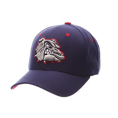 new styles 2dd12 f659f Gonzaga Bulldogs Official NCAA DHS Size 7 1 4 Fitted Hat Cap by Zephyr  333747