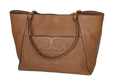 323a6ecd6207dd Tory Burch Bombe T Leather E W Tote Bag Women s Leather Handbag 52472