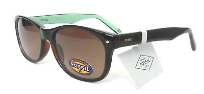25463231fa99 NWT FOSSIL SUNGLASSES, Women's, Logo, Brown, Rectangular, Fw34 ...