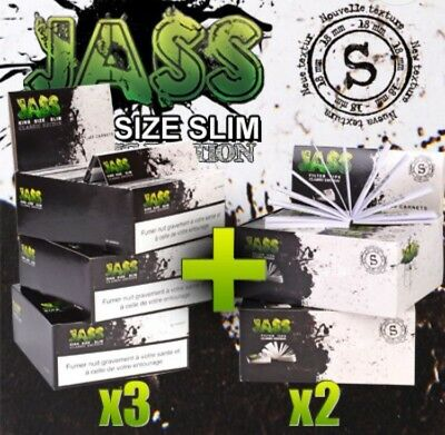 Feuille a Rouler + Toncar Lot Feuilles Maxi Promo Monster Pack Jass Gros Weed