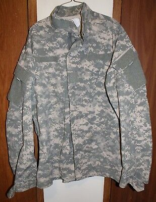 Authentic Military - Army Combat Uniform Coat - Large/X-Long - USA Seller
