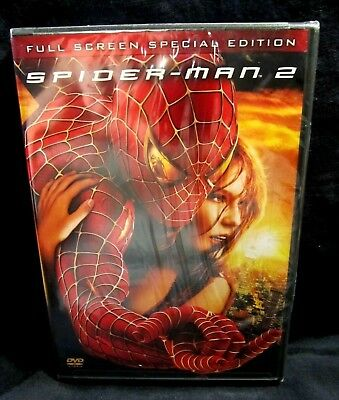 SPIDER-MAN 2  - Full Screen Special Edition DVD 2 Disc Set - BRAND NEW SEALED