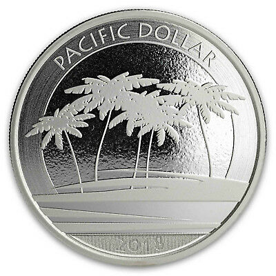 2018 Fiji Pacific Dollar 1 Troy Ounce .999 Fine Silver Very Limited BU Coin