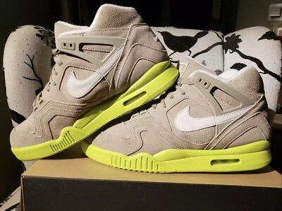 pas mal d25b9 cebda NIKE AIR TECH Challenge Agassi Bamboo Suede Vintage Kith US Open Wimbledon  10.5