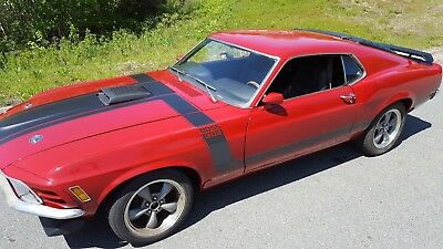 1970 Ford Mustang Boss Ford Mustang Fastback BOSS 302 Tribute 5sp