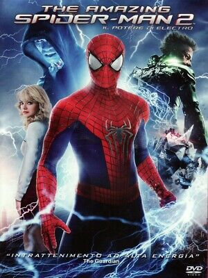 the amazing spiderman 2 dvd