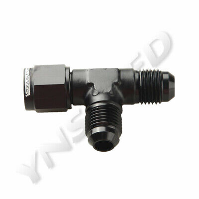 6AN Male To AN6 Male To AN-6 Female Flare Tee T Piece Fuel Fitting Aluminum