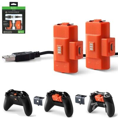 Play & Charge Kit for XBOX ONE Controller Accessories Batteries Pack, PowerA