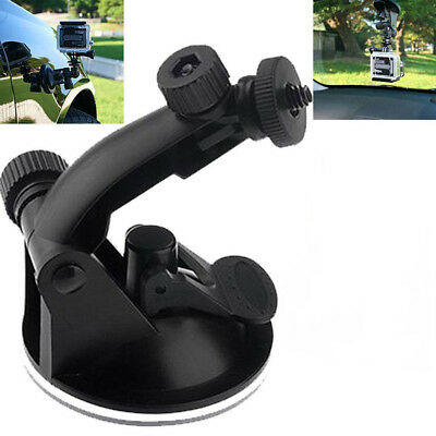 Suction Cup Mount Tripod Adapter Camera Accessories For Go pro Hero 4/3/2/1 KW