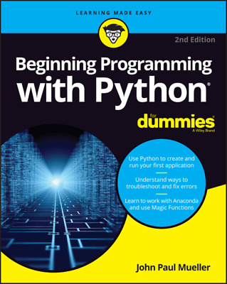 Beginning Programming with Python For Dummies 2nd Edition(PDF)