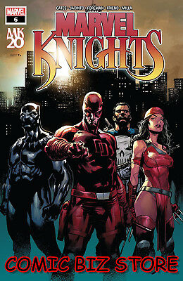 Marvel Knights 20Th #6 (Of 6) (2019) 1St Printing Jeff Shaw Main Cover ($4.99)