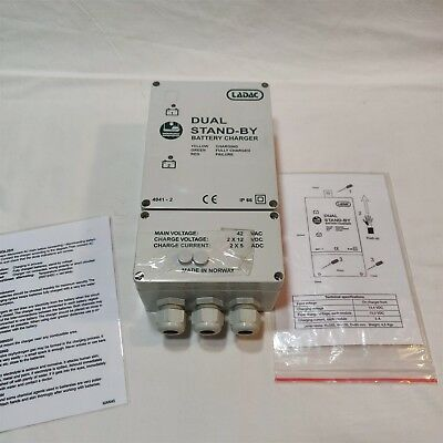 Ladac 4041LBC LifeBoat Battery Charger. Brand New. Free Shipping.