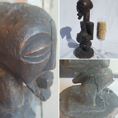 Basongye Songye Magic Fetish Figure Sculpture Statue Mask Fine African Art