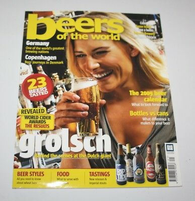 Beers Of The World Magazine, Issue 21, Dec 2008/Jan 2009 - Grolsch