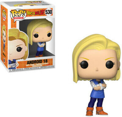 Dragon Ball Z - Android 18 - Funko Pop! Animation: (2019, Toy NUEVO)