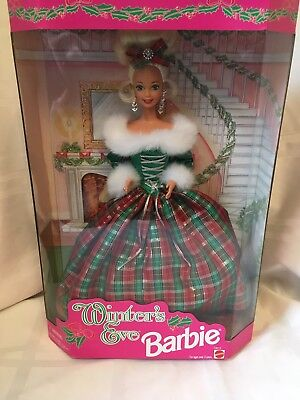 Vtg 1994 Winter's Eve Barbie, Special Edition, 13613