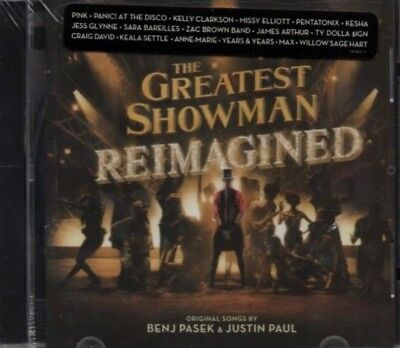 The Greatest Showman Reimagined With Bonus Song CD New Sealed Fast Free Shipping