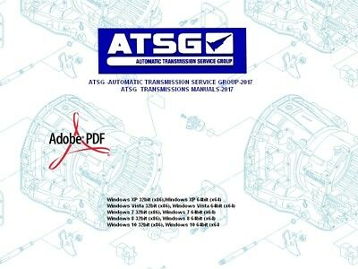 ATSG AUTOMATIC TRANSMISSION Service Group 2017 Transmissions Manuals 2017