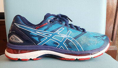 sports shoes 2c567 eac0e ASICS GEL-NIMBUS 19 Men's Diva Blue/ White/ Indigo Blue Running Shoes Size  9.5