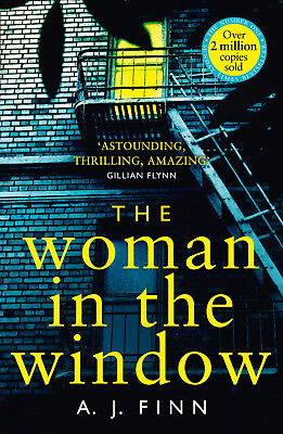 The Woman in the Window by A. J. Finn - Best Selling Crime Thriller - Paperback