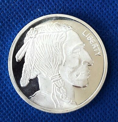 1 oz Silver Buffalo Round **.999 fine & Proof-Like appearance**