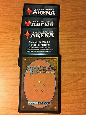 MTG Magic the Gathering Arena Prerelease Draft Code RNA EMAIL ONLY