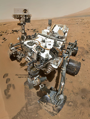 Curiosity Mars Rover PHOTO Mars Space Mission NASA Martian Landing Mars Surface