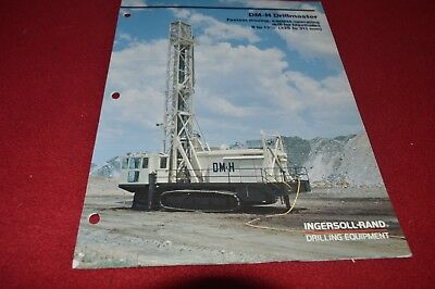 Ingersoll Rand TH-60 Drill Rig for Water Well Dealer/'s Brochure DCPA9