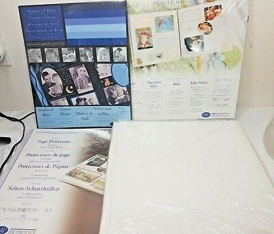 CREATIVE MEMORIES Baby Coverset ALBUM, Refill Pages, Protectors & Mounting Paper