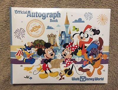 Walt Disney World Mickey Mouse and Friends Autograph Book - NEW