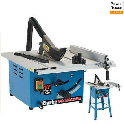Clarke CTS14 10 (250mm) Table Saw with Extension Tables