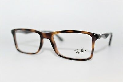 36fe5435a39 New Authentic Ray-Ban Rb 7023 2012 Havana Frames Men s Eyeglasses 53Mm  Rb7023 Rx