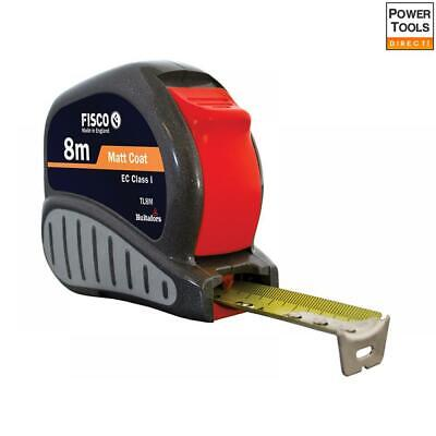Fisco TL8M Tri-Lok Pocket Tape 8m (Width 25mm) (Metric only)