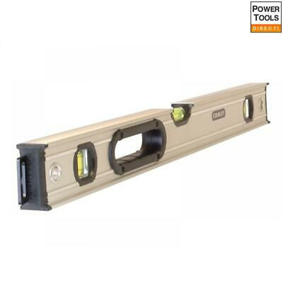 Stanley FatMax Pro Box Beam Spirit Level 3 Vial 60cm