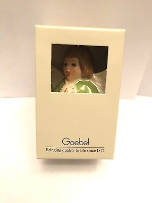 Goebel Angel Bell Annual Christmas Tree Ornament 1988 13th Edition W/box New